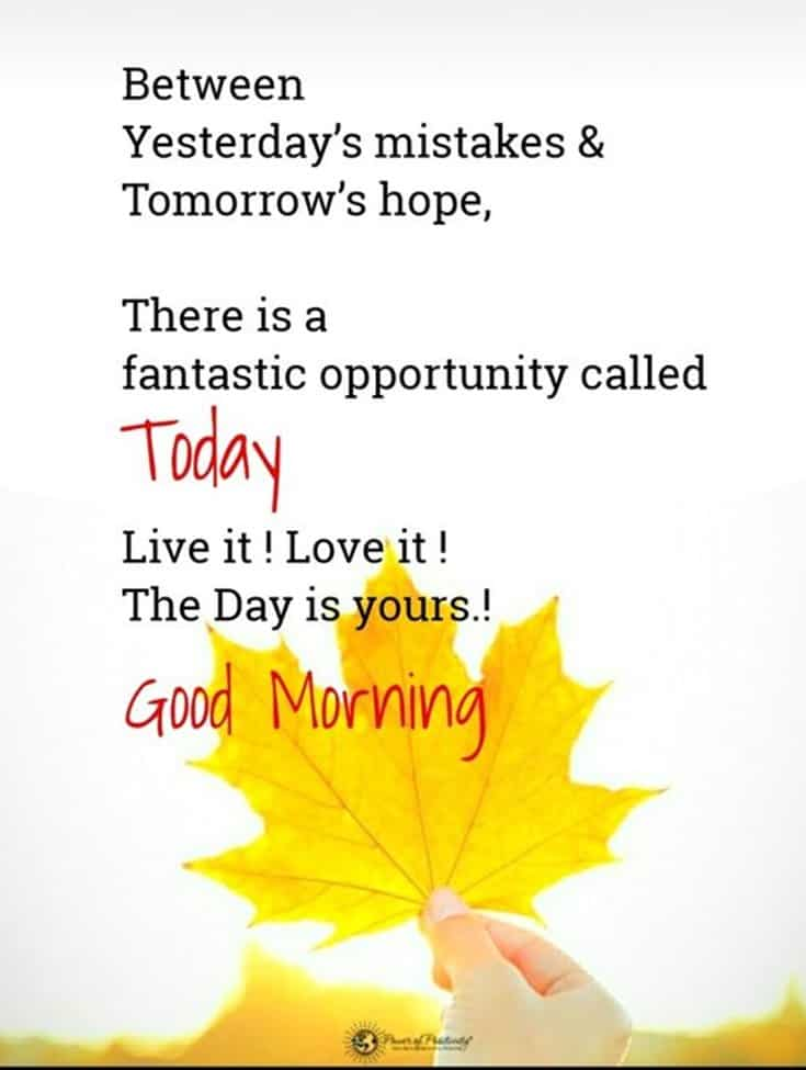 35 Of The Good Morning Quotes For You 34