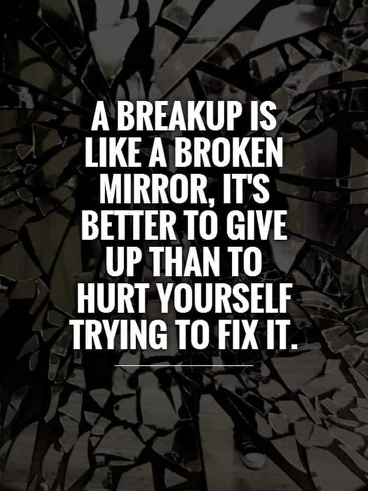 60 Break Up Quotes To Help You Move On Depressed Sayings 41