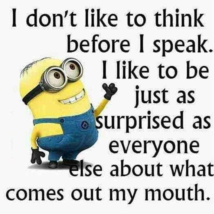happy minions quotes and sayings