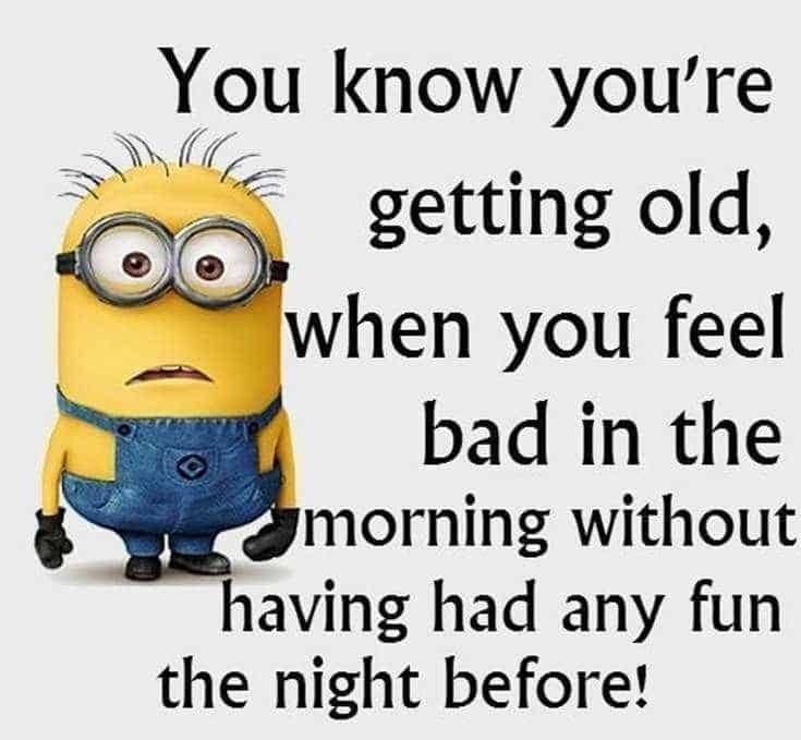 minions quotes on getting old and funny quotes minions