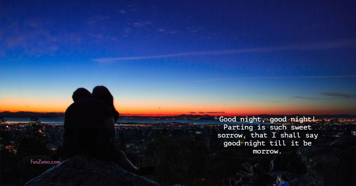 31 Amazing Good Night Quotes and Wishes with Beautiful Images