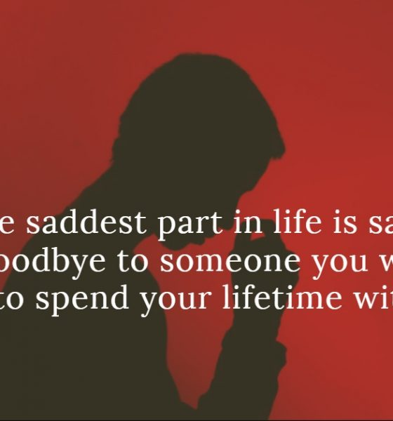 60 Sad Love Sayings and Sad Love Quotes