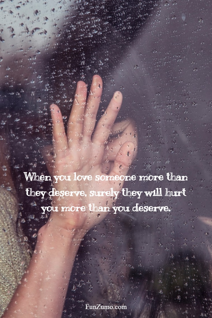 Sad love sayings and quotes about love