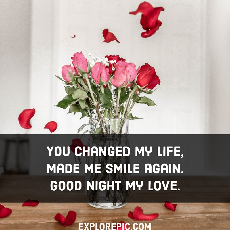 Sweet Good Night messages for Your Girlfriend