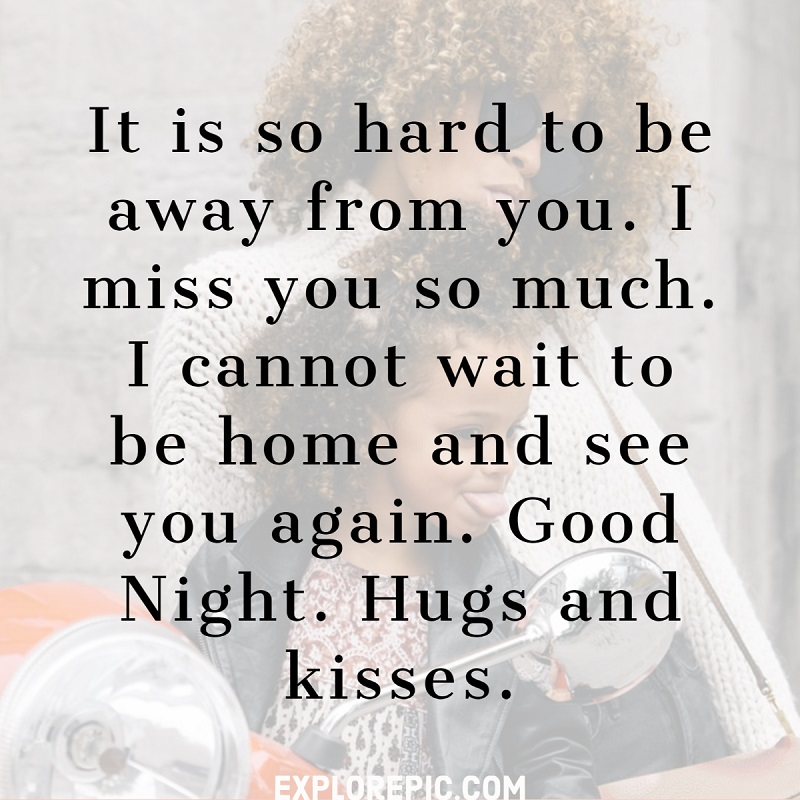 Sweet Good Night quote for Your Girlfriend
