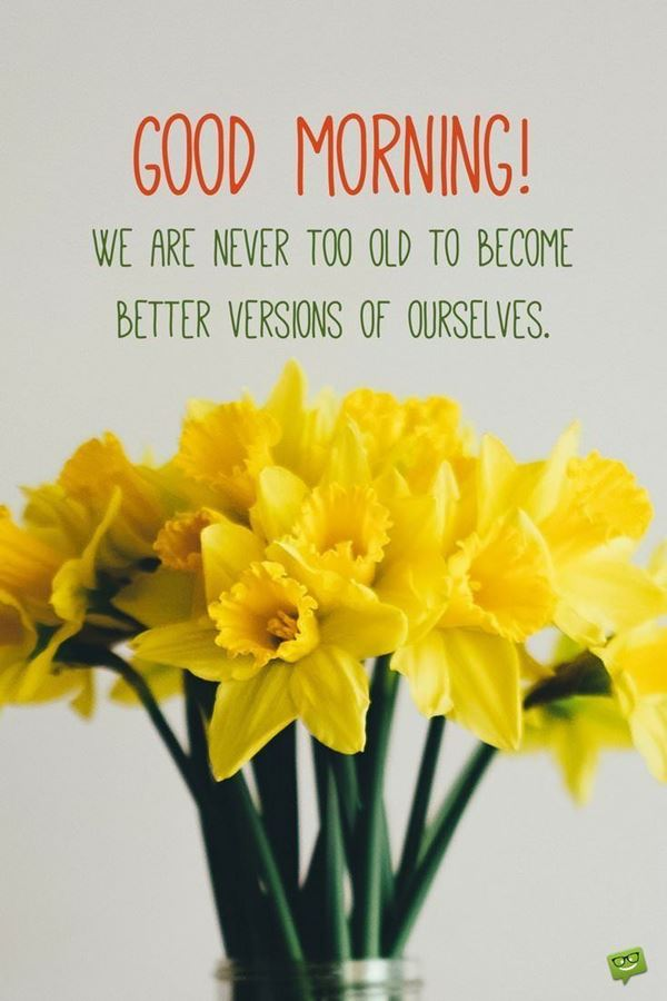 Awesome Good Morning Quotes and messages with Beautiful Images