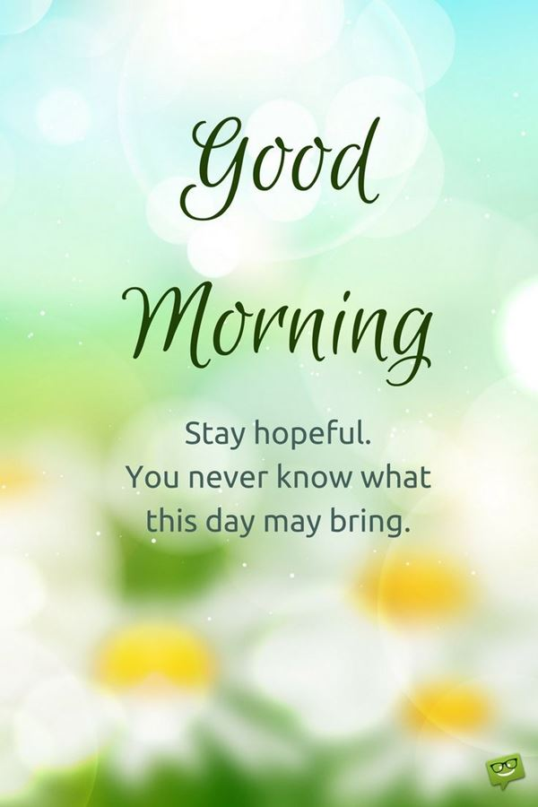 Cute Good Morning Quotes and messages with Beautiful Images