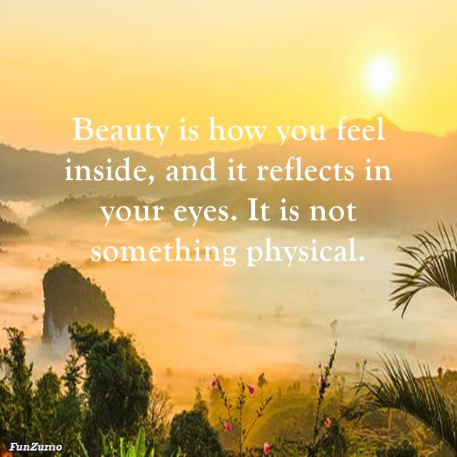 Inspirational Quotes About Beauty in the world