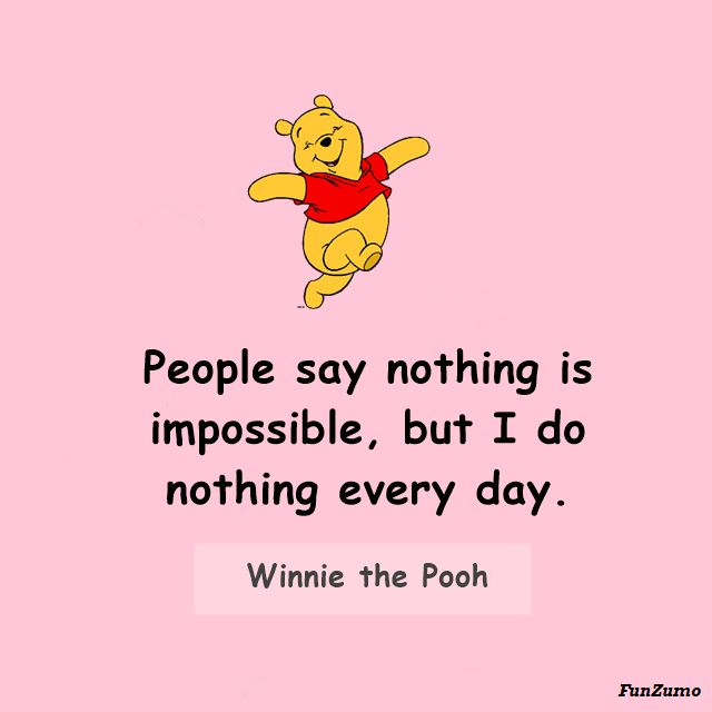 Winnie the Pooh Quotes for Mindfulness
