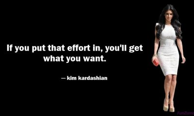 Famous quotes on kim kardashian to inspire be yourself