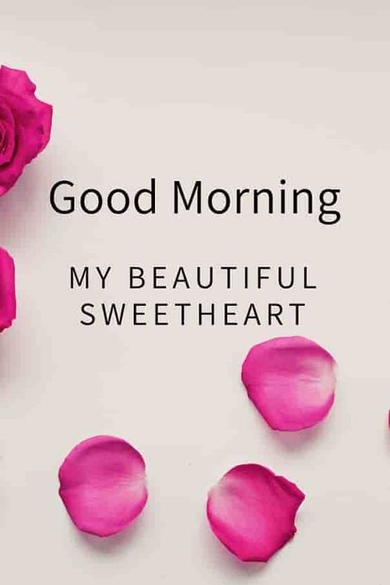 40 Best Good Morning Beautiful Images and sweetest quotes for her and good  morning to all quotes