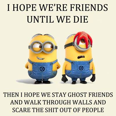 45 Crazy Funny Friendship Quotes for Best Friends 2