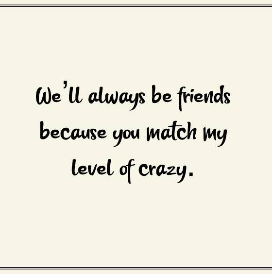Crazy Funny Friendship Quotes for Best Friends