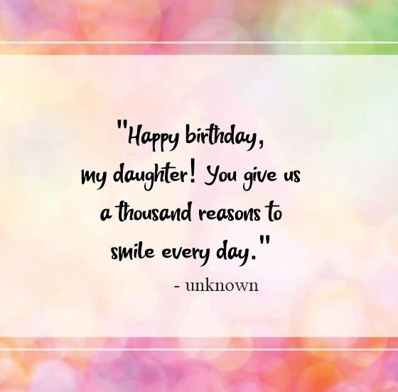 Birthday Poems For Daughters Happy Birthday Wishes