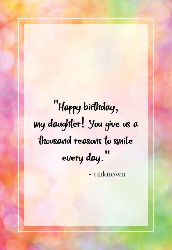 birthday wishes to my beautiful daughter Happy Birthday Wishes