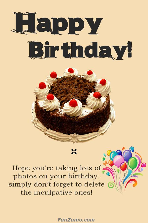 Funny Birthday Card Messages Wishes Quotes