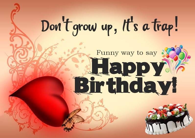 Funny Birthday Wishes Messages and Quotes