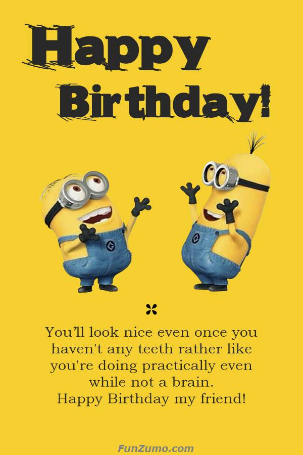 Funny Birthday Wishes Quotes Meme Images