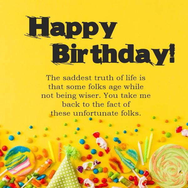 Huge List of Funny Birthday Messages and Wishes
