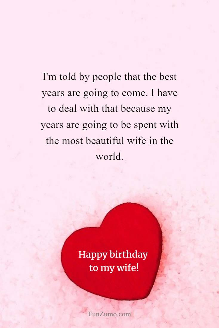 100 Birthday Wishes For Wife Happy Birthday Quotes Messages Funzumo