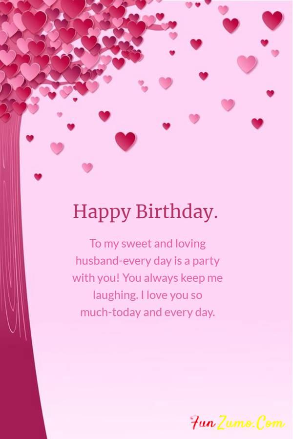 Romantic Birthday Wishes for Husband, birthday msg for husband, birthday quotes for hubby