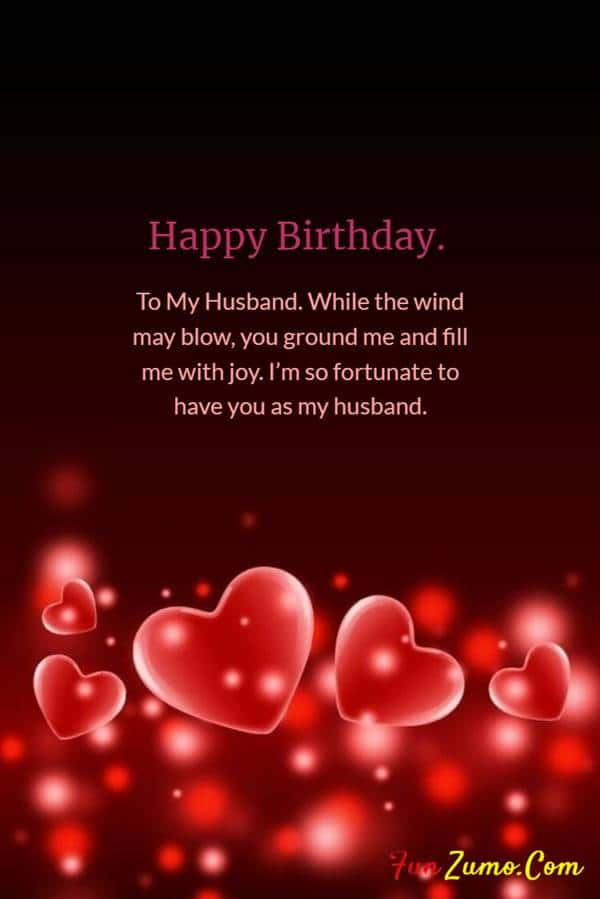 Heart Touching Happy Birthday Wishes for Husband | happy birthday wishes for husband on cake, happy birthday wishes for hubby