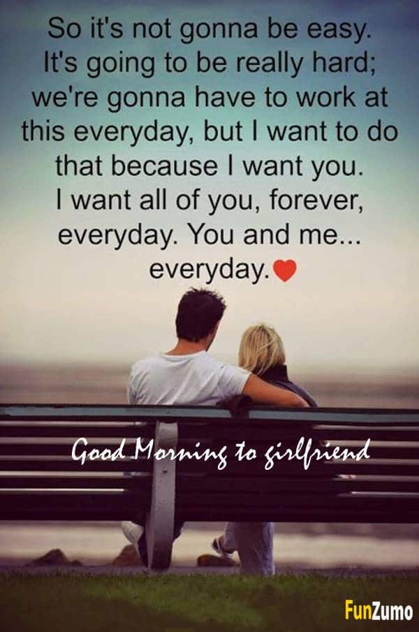 good morning messages for your girlfriend | positive good morning texts, good morning sayings for her, good morning love message, love picture messages for girlfriend