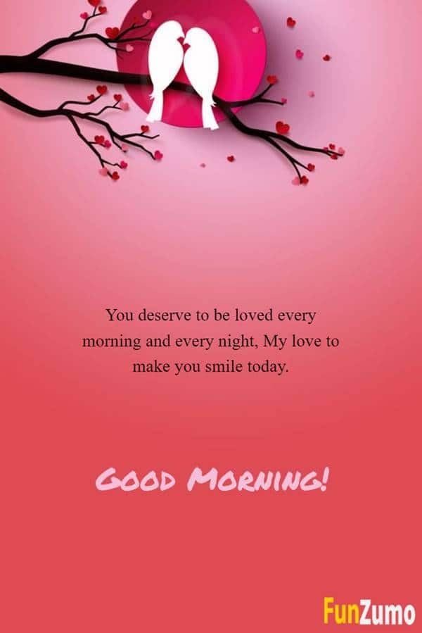 Flirty Good Morning Text Messages for Him Funzumo love