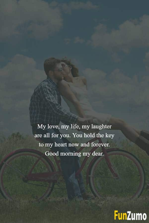 Good morning love messages for him | Morning love quotes, Good morning quotes for him, Morning message for him