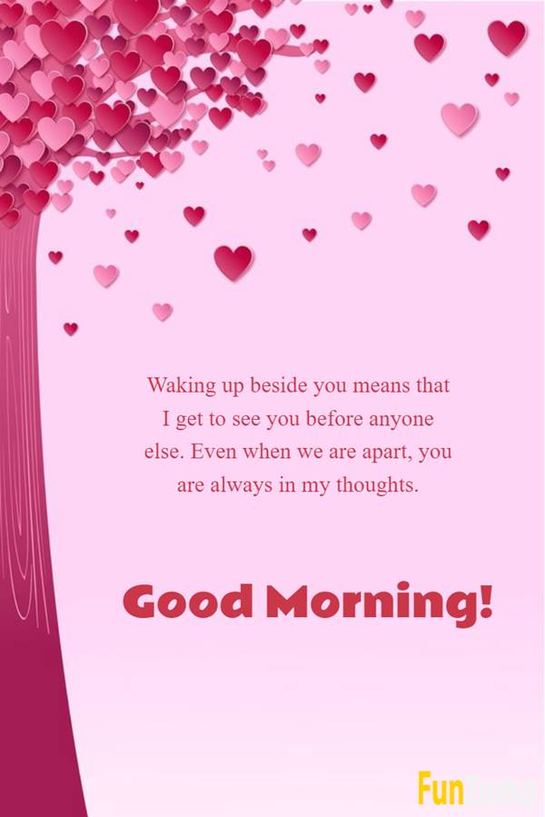 Good morning love texts for him | Morning love quotes, Good morning love wishes for him, Morning message for him