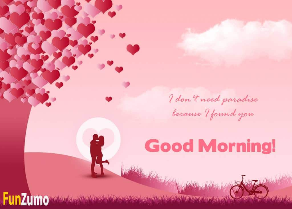 Romantic Good Morning Messages for Him With Images