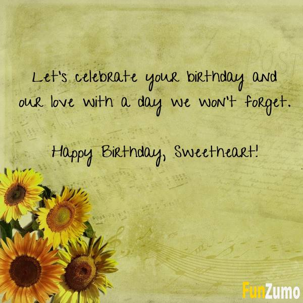 Romantic Birthday Wishes For Her That Will Make Your love