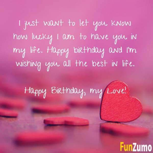 Short And Long Romantic Birthday Wishes For Boyfriend | The Right Messages Short And Long Romantic Birthday Wishes For Boyfriend | The Right Messages