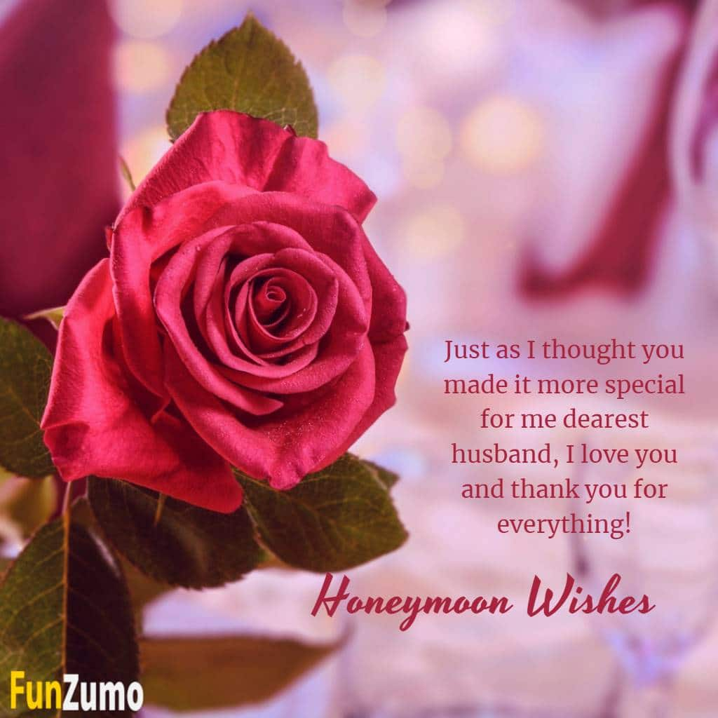 Honeymoon Wishes for Husband | Lovely Enjoy Your Honeymoon Messages to Wish Newly Wed Couples, Funny Quotes With Images, happy honeymoon card