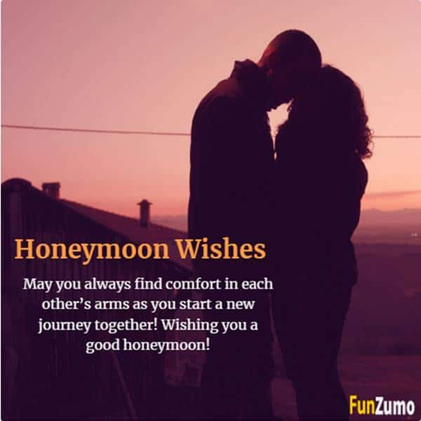 Honeymoon Wishes for Best Friend | Lovely Enjoy Your Honeymoon Messages to Wish Newly Wed Couples, Funny Quotes With Images
