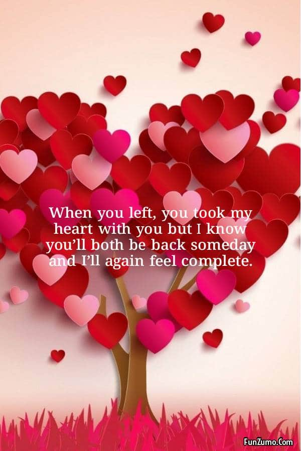 Long distance Love messages for him - best love quotes