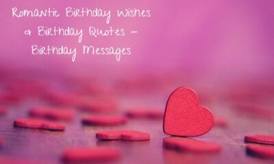 Romantic Birthday Wishes Birthday Quotes Birthday Messages