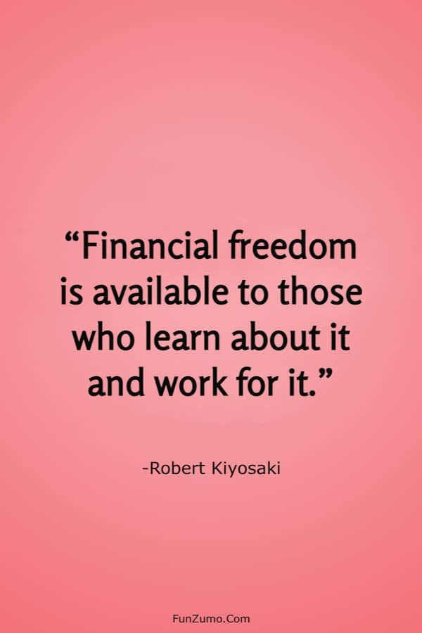 150 Inspirational Financial Freedom Quotes To Improve Your Goals | Financial freedom quotes, Freedom quotes, Inspirational quotes