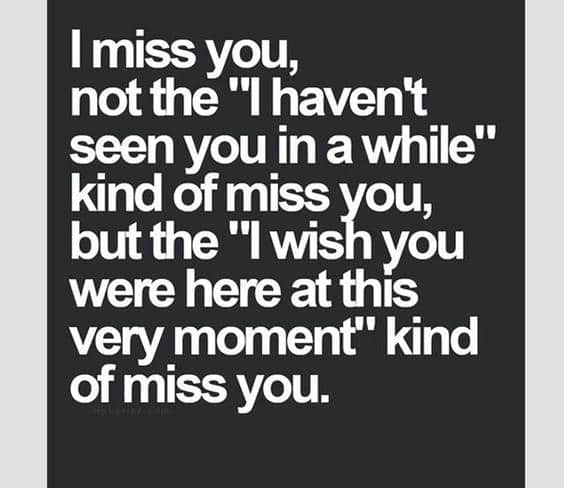 165 Romantic I Miss You Quotes and Messages | Today quotes, Relationship quotes, Inspirational quotes