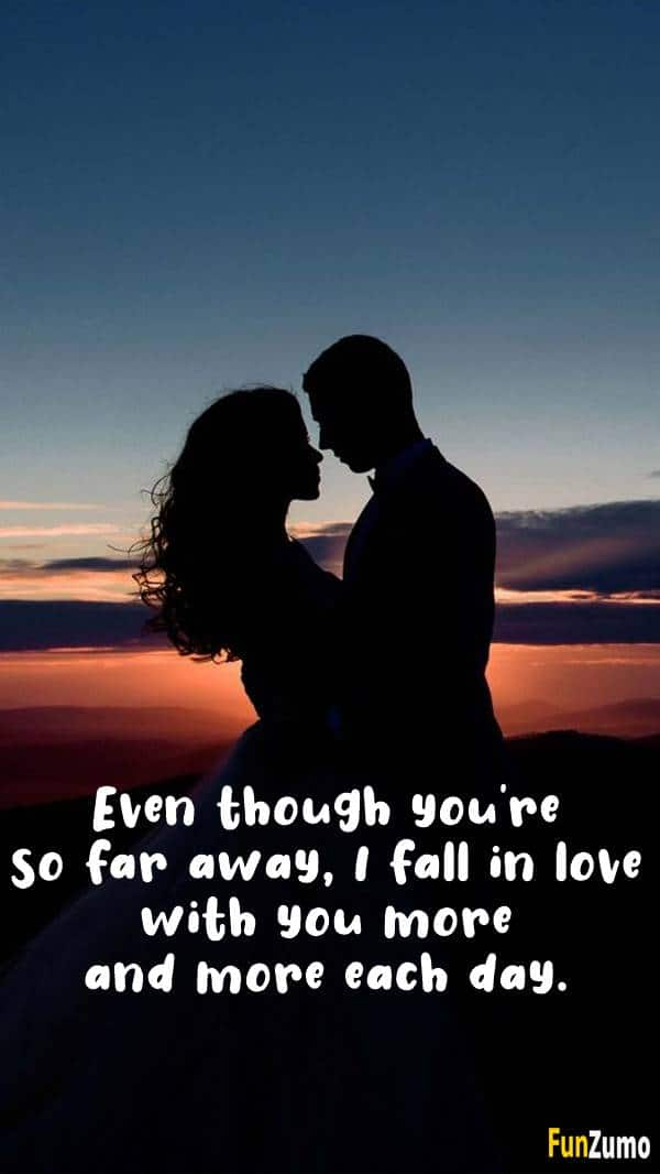60 Romantic Long Distance Relationship Love Messages for Her | beautiful messages for her, romantic love messages for her, sweet love message
