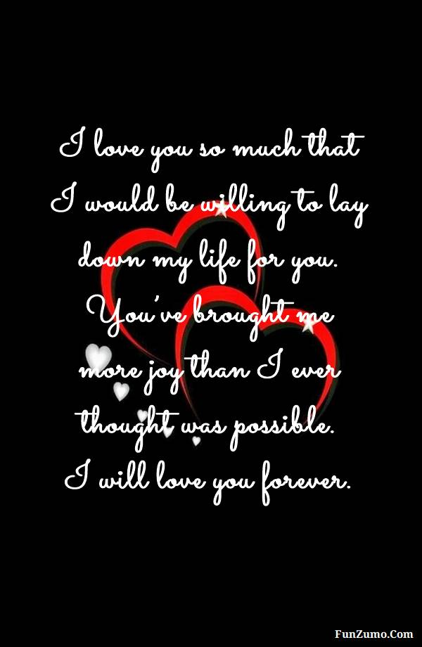70 Romantic I Love You Messages for Her | i love you quotes, I Miss You Quotes and Messages, I love you