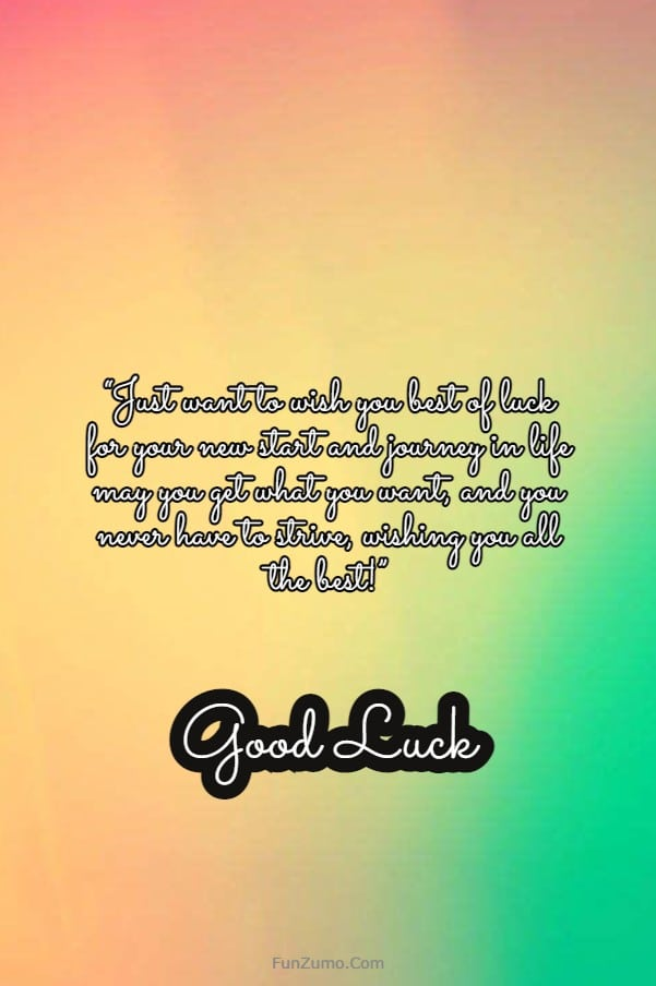 100 Good Luck Wishes All the Best Messages | wishing someone good luck, best wishes for your future, good luck messages