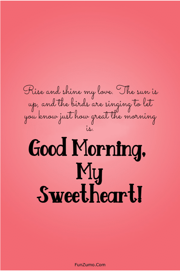 115 Romantic Good Morning Messages for Her | Good morning sweetheart quotes, Morning  wishes for her, Good morning quotes