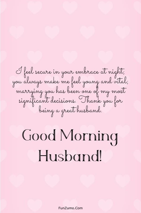 147 Beautiful Good Morning Messages For Husband | good morning husband, good morning my husband, good morning love message for my husband
