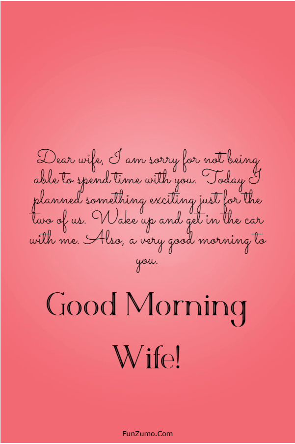 175 Sweet Good Morning Messages For Wife | good morning my beautiful wife, good morning wife, good morning message for my wife