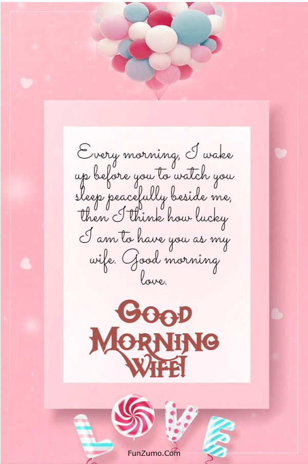 175 Sweet Good Morning Messages For Wife | good morning my queen, good morning quotes for wife heart touching, good morning wife kiss