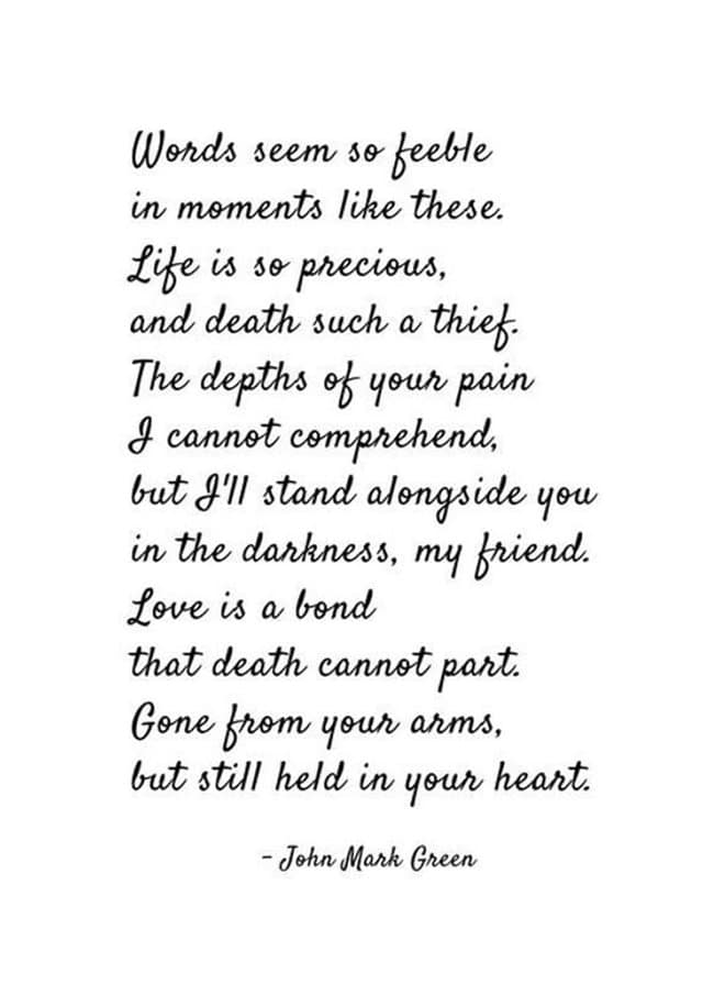 185 Sorry For Your Loss Quotes to Express Your Love Immediate Personal Condolences Messages | Sympathy card sayings,  Condolences quotes, Words of sympathy