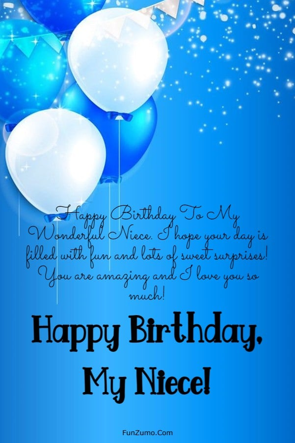 245 Happy Birthday Niece Wishes Quotes Messages | birthday wishes to niece kid, happy birthday to a wonderful niece, happy birthday special niece