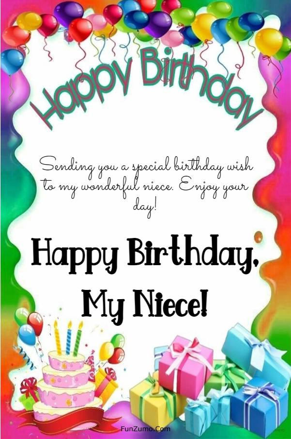 245 Happy Birthday Niece Wishes Quotes Messages | happy birthday to my niece quotes, birthday for niece, niece birthday card messages