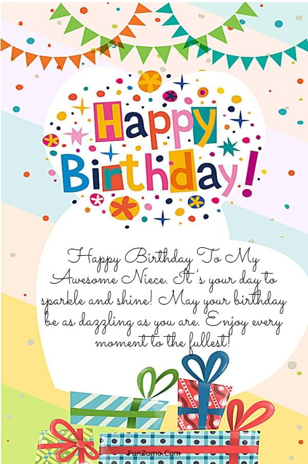 245 Happy Birthday Niece Wishes Quotes Messages | happy birthday to my beautiful niece, happy birthday great niece, birthday wishes for niece